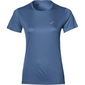 asics Silver Koszulka rowerowa z krótkim rękawem Kobiety, niebieski